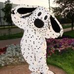 Костюм ростовой куклы в аренду в Москве собака