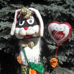 Ростовая кукла заяц фотография