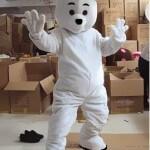 ростовая кукла белый медведь фотография