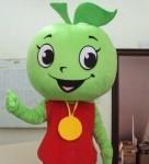 ростовая кукла фрукт яблоко