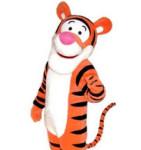 Фотография ростовой куклы Тигра