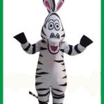 ростовая кукла зебра