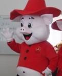 Ростовая кукла свинья