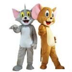 Ростовые куклы Мышь и Кот