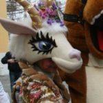 Ростовая кукла Коза на мероприятие