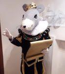 Ростовая кукла Крыса в Москве аренда