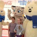 Ростовые куклы Олимпийские Заяц и Медведь в Москве